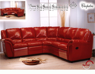 Elegant living room, Italian leather to each sofa and produced by the most professional italian leather handcrafts to support our INTERNATIONAL LEATHER FURNITURE PARTNERS...