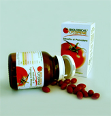 Discover more info about Biological and Organic Lycopene made in Italy with the most powerful red tomatoes produced in Italy... may prevent prostate cancer, heart disease and other forms of cancer... Biological Lycopene manufacturing solutions to the worldwide health care distribution market... We are looking for worldwide distributors