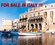 Professional realtors and Italian real estate companies,... if you are looking to buy a traditional italian house, Italian villa or an Italian Masseria in Puglia, Tuscany, Naples, Rome, Florence, Venice,.. we offer the best economic, houses and investment proposal...