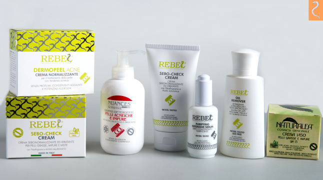 Italian Anti Acne Treatment Cosmetics Face Acne Treatment
