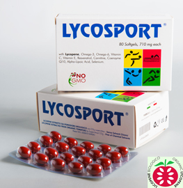Lycosport to support athlete diet, produced in Italy with our certified organic lycopene to the wholesale distribution in Europe, USA, Latin America, Asia, Africa and Australia